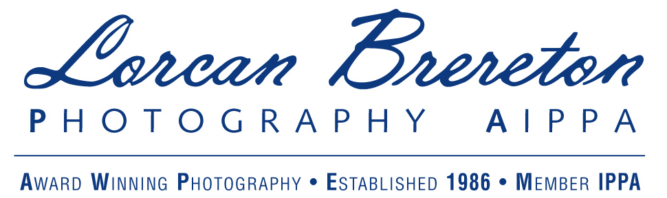 Logo for Lorcan Brereton Photography